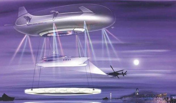Для богачей создали воздушный корабль будущего