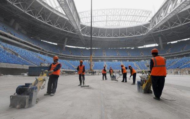 Інноваційні технології: Росія знову зганьбилася зі своїм стадіоном