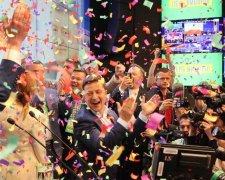 Новоизбранный президент Украины Владимир Зеленский