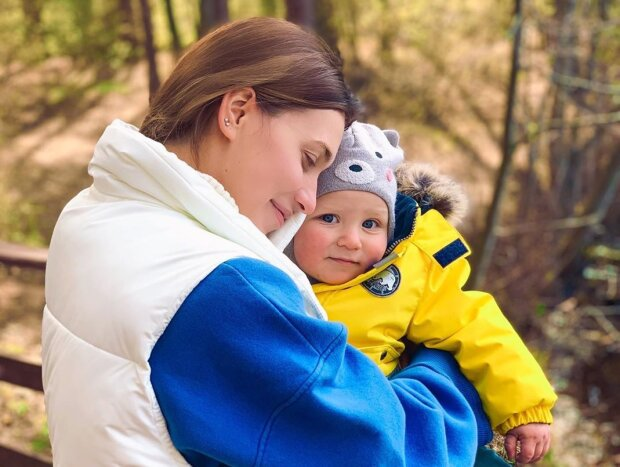 Регіна Тодоренко з сином, фото - Instagram