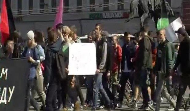 Веганы подрались с ЛГБТ-активистами в Петербурге