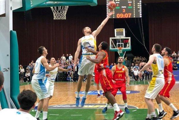 Збірна України з баскетболу перемогла сильних іспанців
