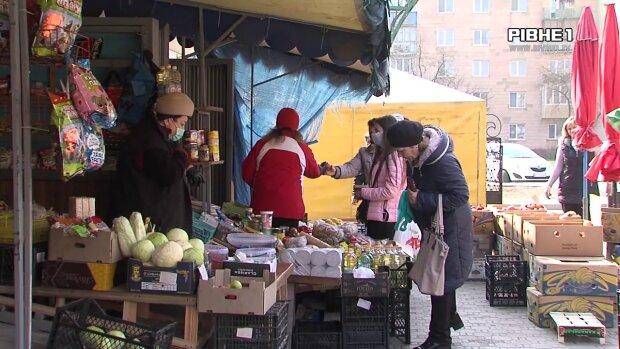 продуктовый рынок, скрин с видео