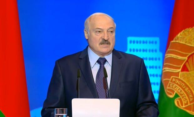 Лукашенко, скріншот з youtube