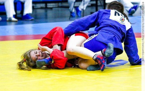 Україна стала другою на чемпіонаті Європи з самбо