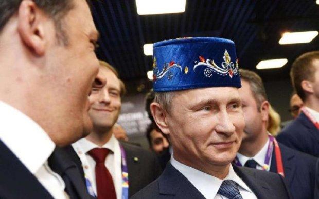 """Путіна послали """"взад"""": кримські пропагандисти знову зганьбилися"""
