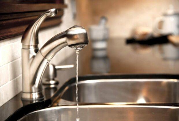 Отключение воды в Киеве