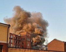 """На """"фабрике Путина"""" вспыхнул мощный пожар"""