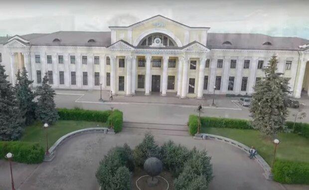 Чоп, Закарпаття, скріншот з відео