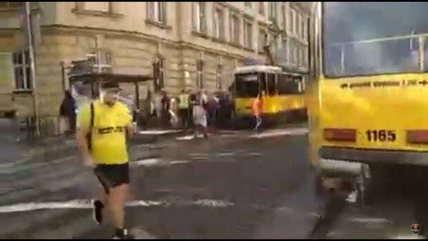 трамвай / скріншот з відео