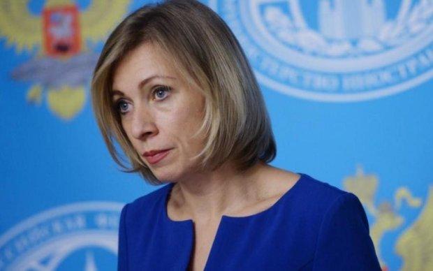 """""""Нехай щастить"""": Захарова раскудахталась из-за въездного режима в Украине"""