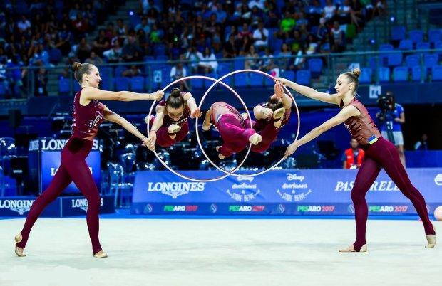 Украинские гимнастки