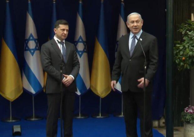 Встреча Зеленского с Нетаньягу, скриншот: Офис Президента