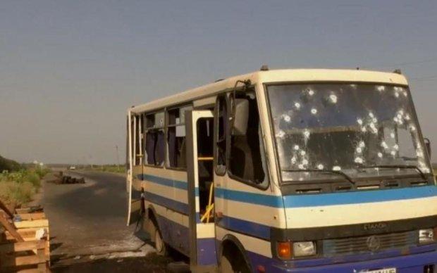 Взрыв автобуса в Донецке: пассажиры раскрыли леденящие душу подробности