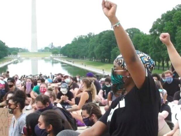 Протести у Вашингтоні, скріншот відео