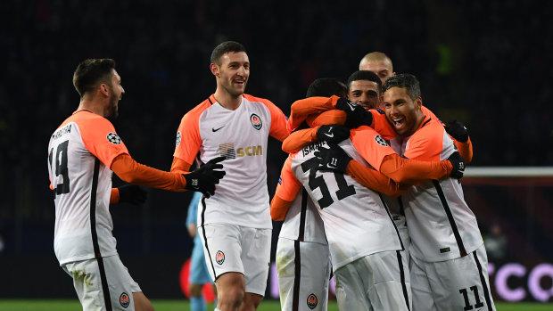 Шахтер - Манчестер Сити: видео всех голов дончан английским командам