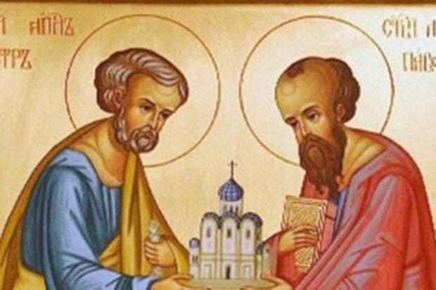 23 вересня — осінніх святих Петра та Павла