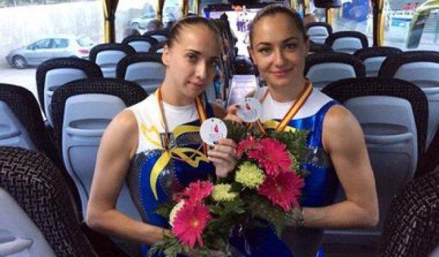 Українки стали третіми на Кубку світу зі стрибків на батуті
