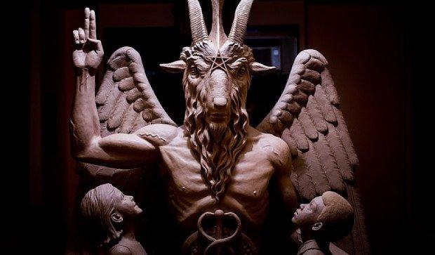 В Америке открытие памятника Сатане сопровождали оргиями(видео)