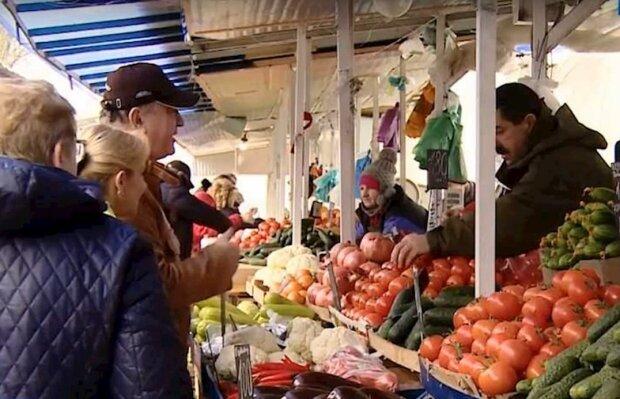 ринок, скріншот з відео