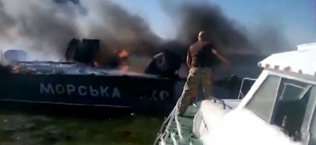 Военный катер, фото: скриншот из видео