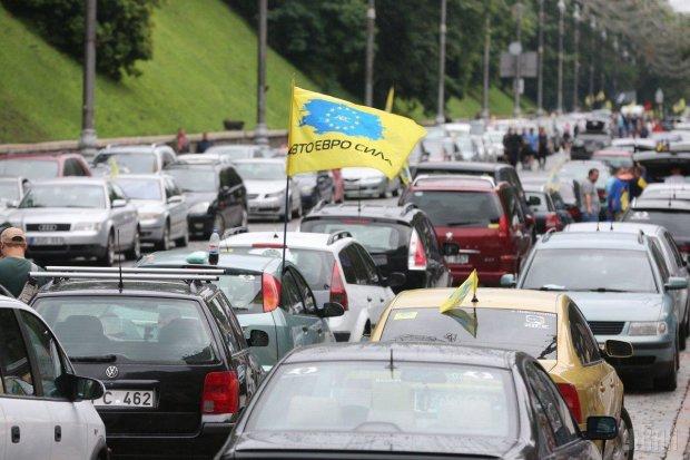 Растаможка евроблях в Украине: сколько авто оформляют таможни в сутки