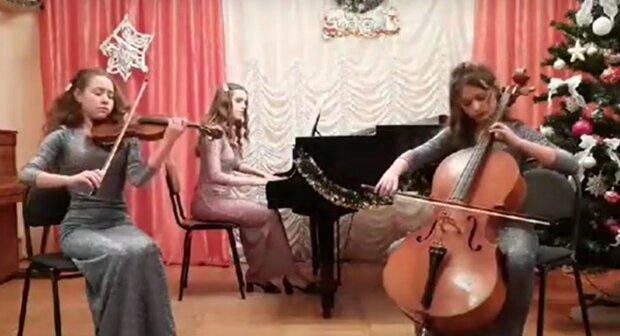 Музыканты из Калуша, кадр из видео: YouTube