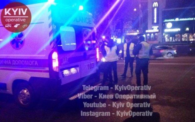 Таксист зніс двох пішоходів у Києві