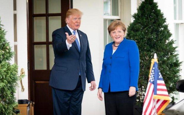 Трамп і Меркель обговорили Україну: перші подробиці