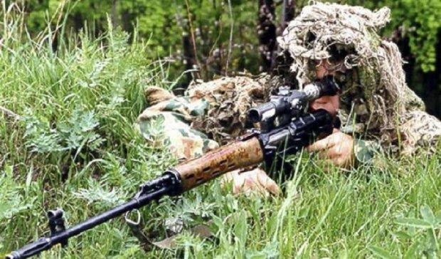 В Маріїнці працював снайпер терористів - штаб АТО