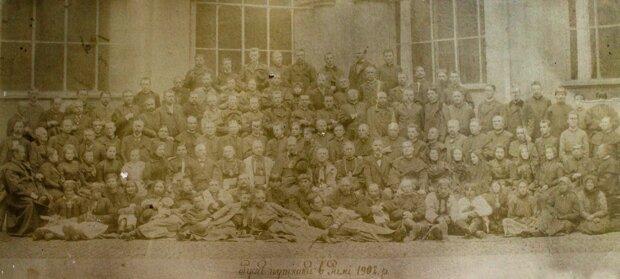 Андрей Шептицький і віряни з Галичини у Римі, 1902 рік