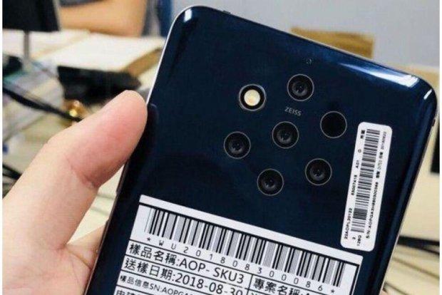 Nokia 9 PureView получит рекордную 60-мегапиксельную камеру