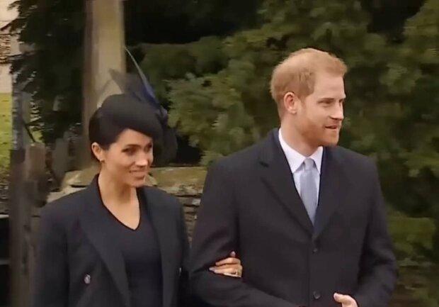 Принц Гарри и Меган Маркл / скриншот из видео