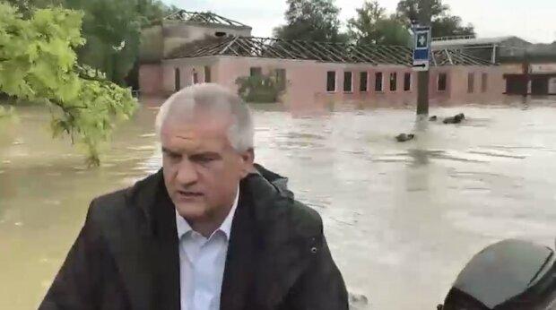 потоп в Керчи, скриншот