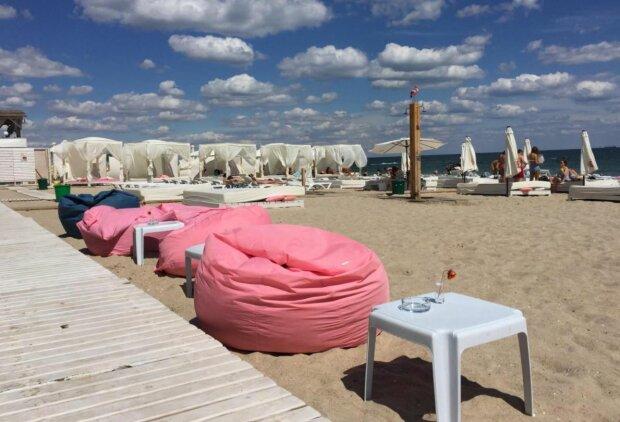 Одеський пляж, скріншот: YouTube