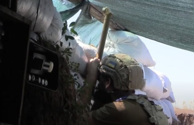 Украинский воин, скриншот: YouTube