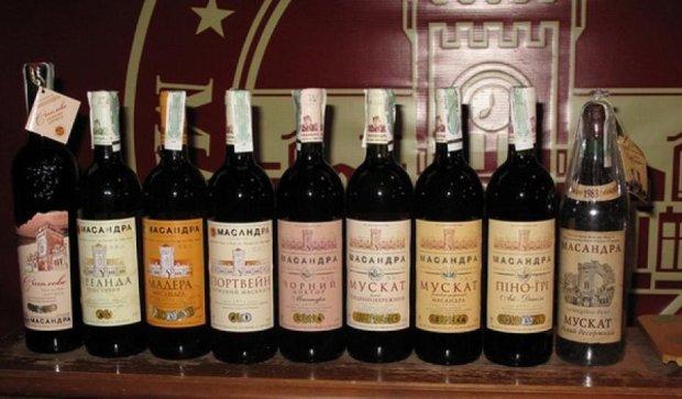Незважаючи на санкції, вина «Массандра» презентували на міжнародному конкурсі