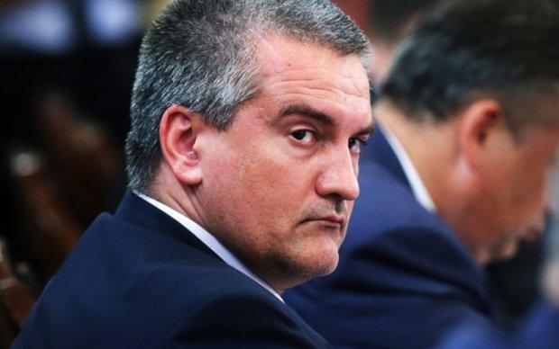 Аксьонов засмутився через арешт кримського вина