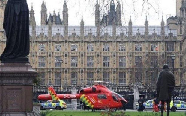 Стрілянина в Лондоні: пряма трансляція з-під парламенту Британії