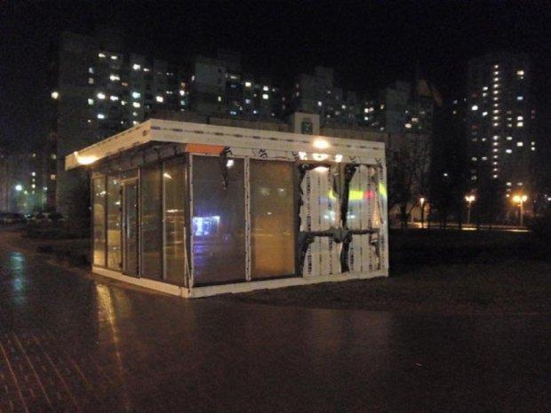 В столице МАФы ставят  под окнами райгосадминистраций