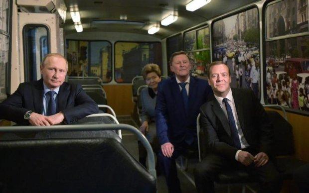Путін, Медведєв і Пєсков показали свої доходи