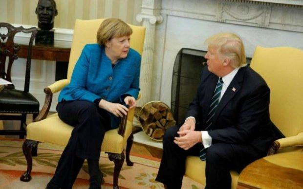 Терміновий дзвінок: Трамп і Меркель відреагували на ядерну загрозу Путіна