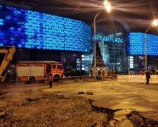 потоп у ТРЦ Ocean Plaza