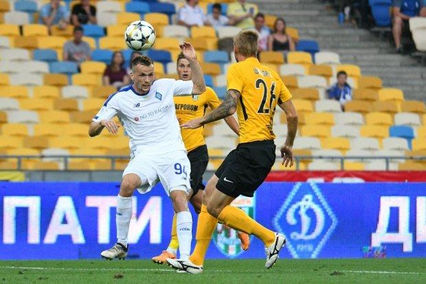 Александрия сенсационно выиграла у Динамо и вышла на второе место в УПЛ