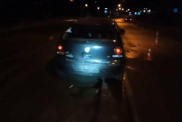 ДТП, Львів, скріншот з відео