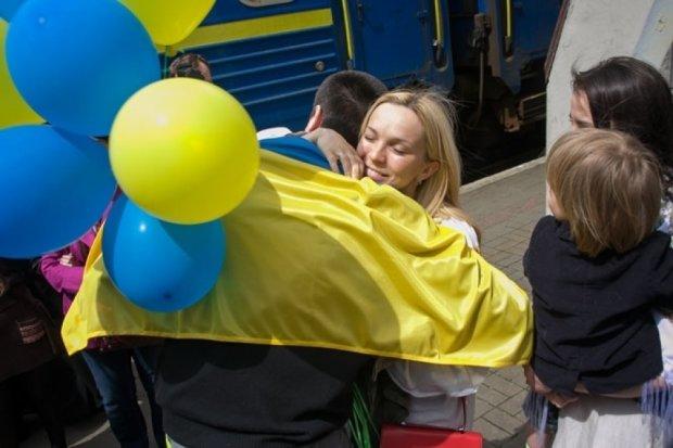 У  Львові зустріли студента,  звільненого з російської в'язниці