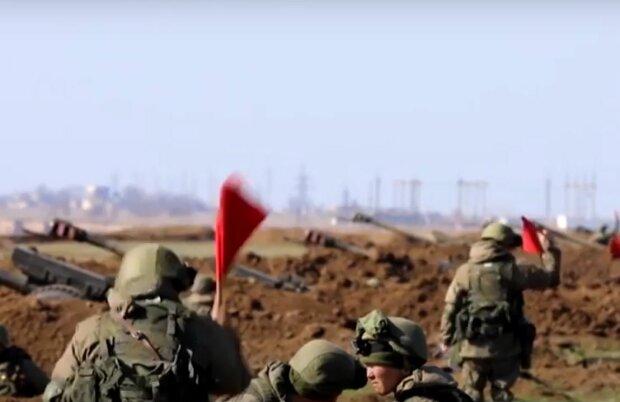 Російські окупанти в Криму, скріншот: YouTube