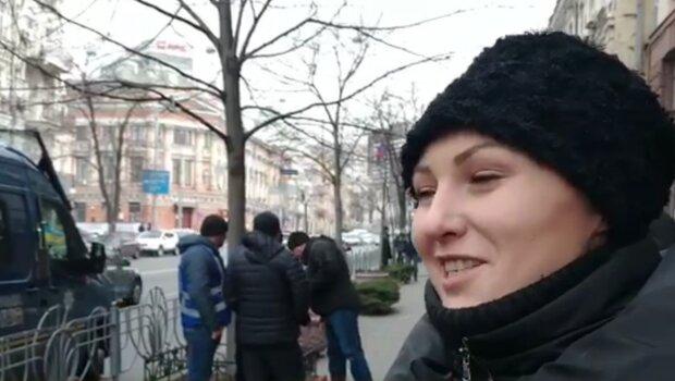 Федина, кадр из видео