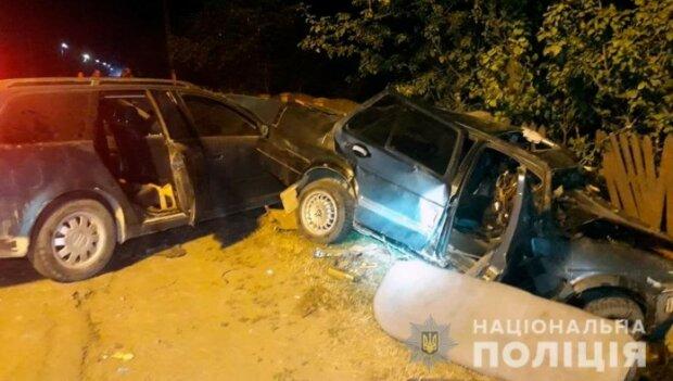 Аварія в Чернівецькій області, скріншот