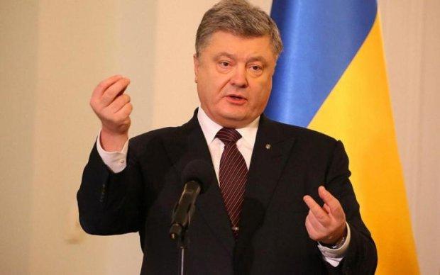 Порошенко сказал, когда США осчастливят Украину
